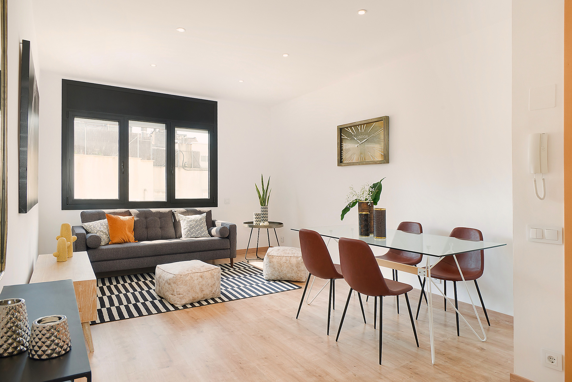 HOME STAGING EN UN EDIFICIO REHABILITADO EN BARCELONA