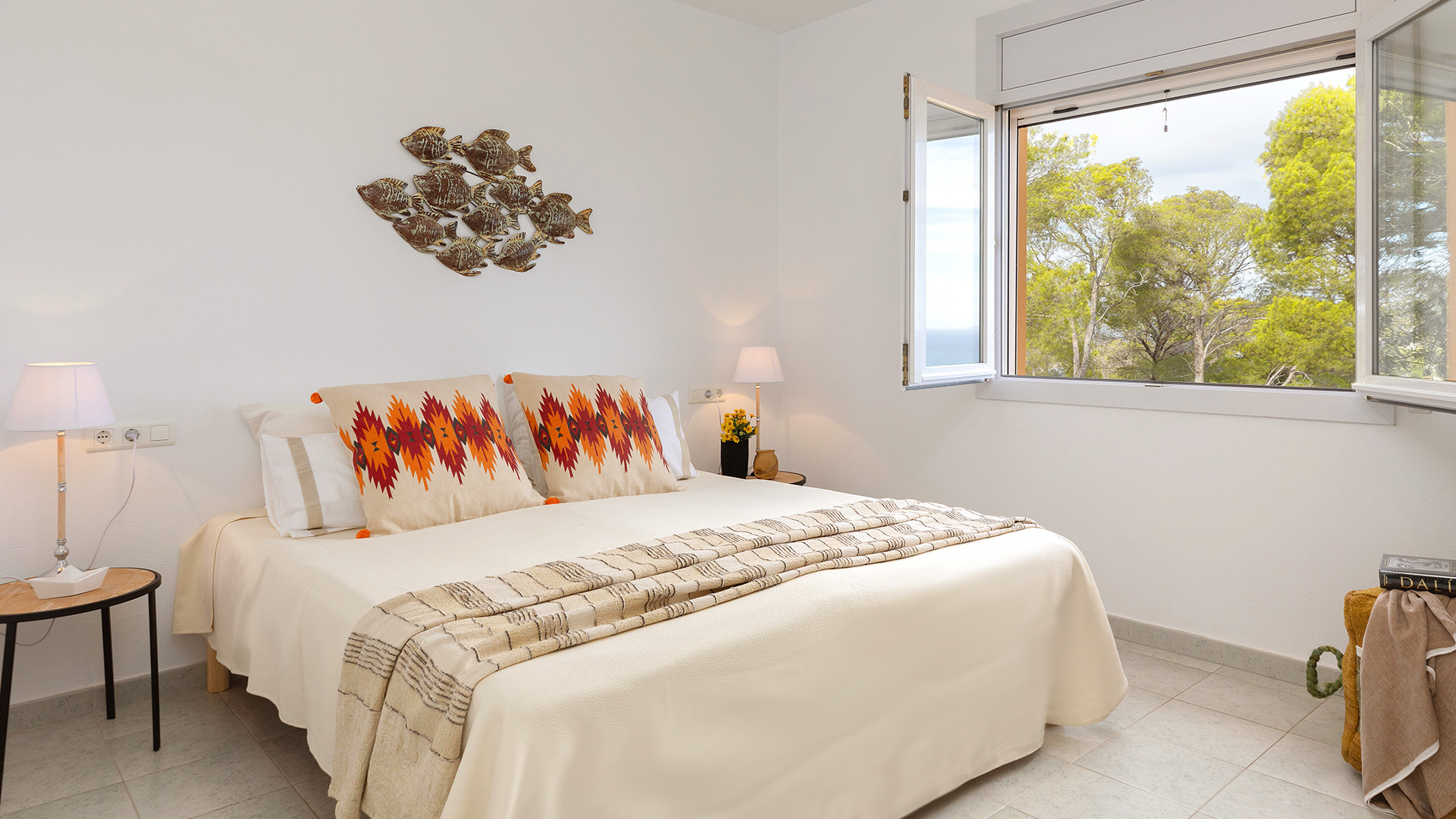 Home staging en una casa de la Costa Brava