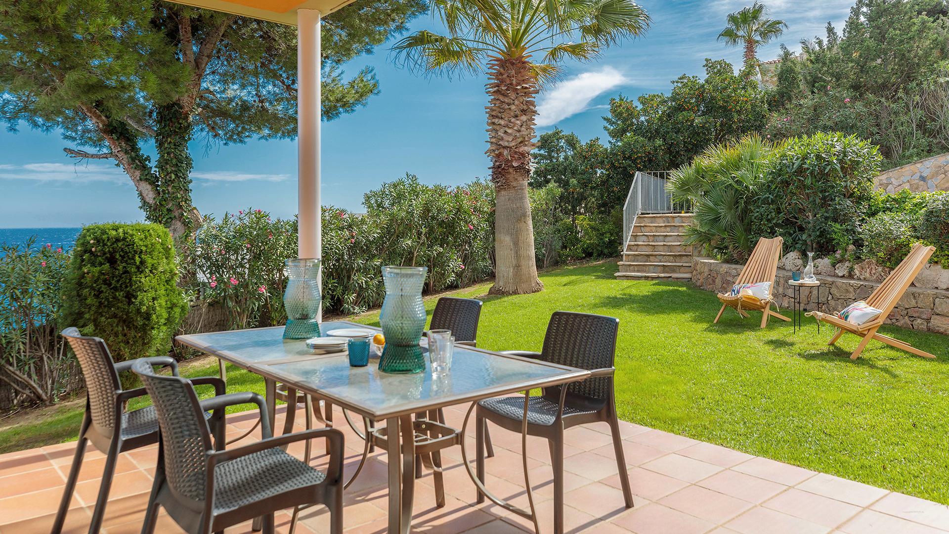 Casa con jardín Begur