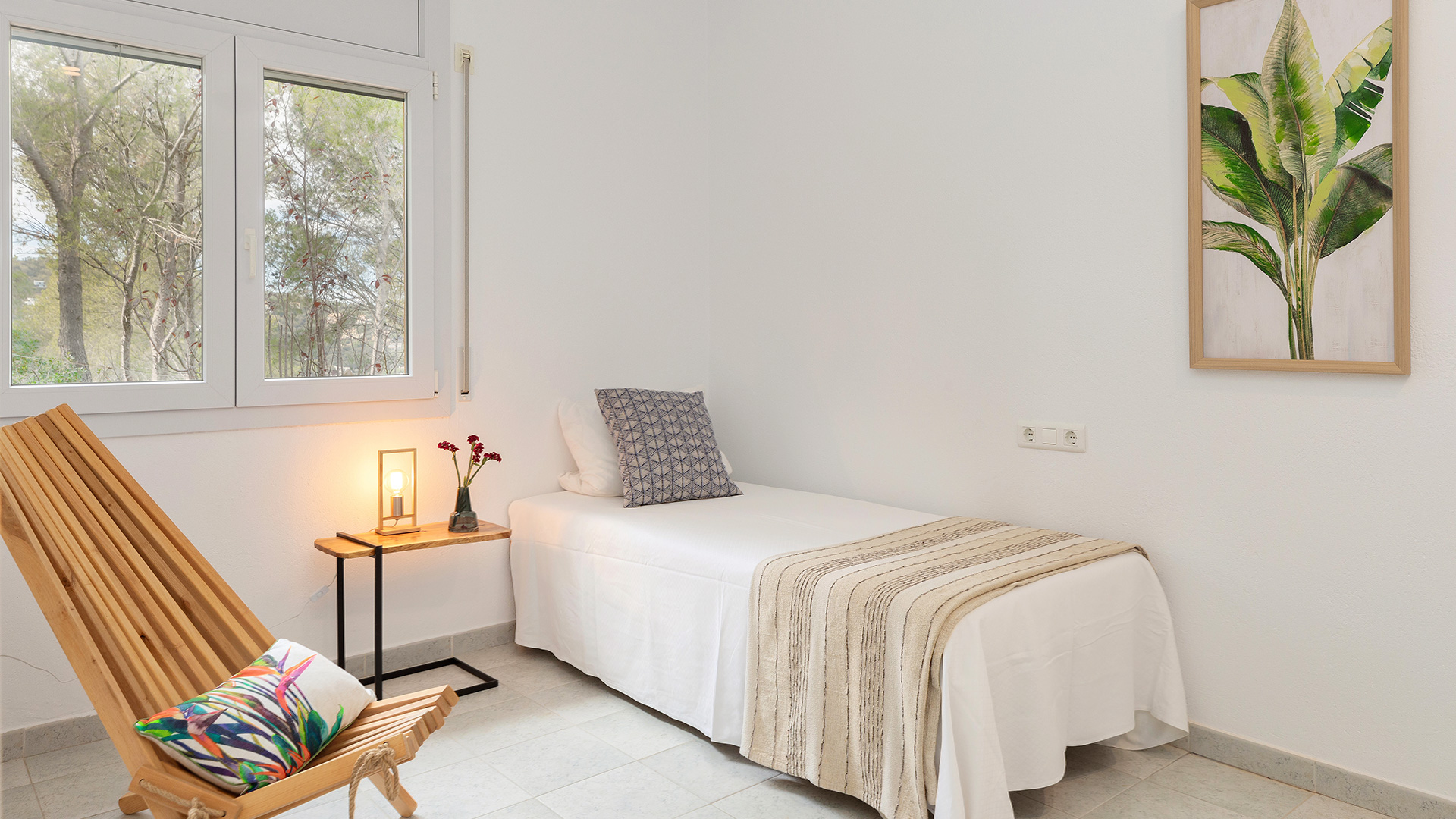 dormitorio con home staging