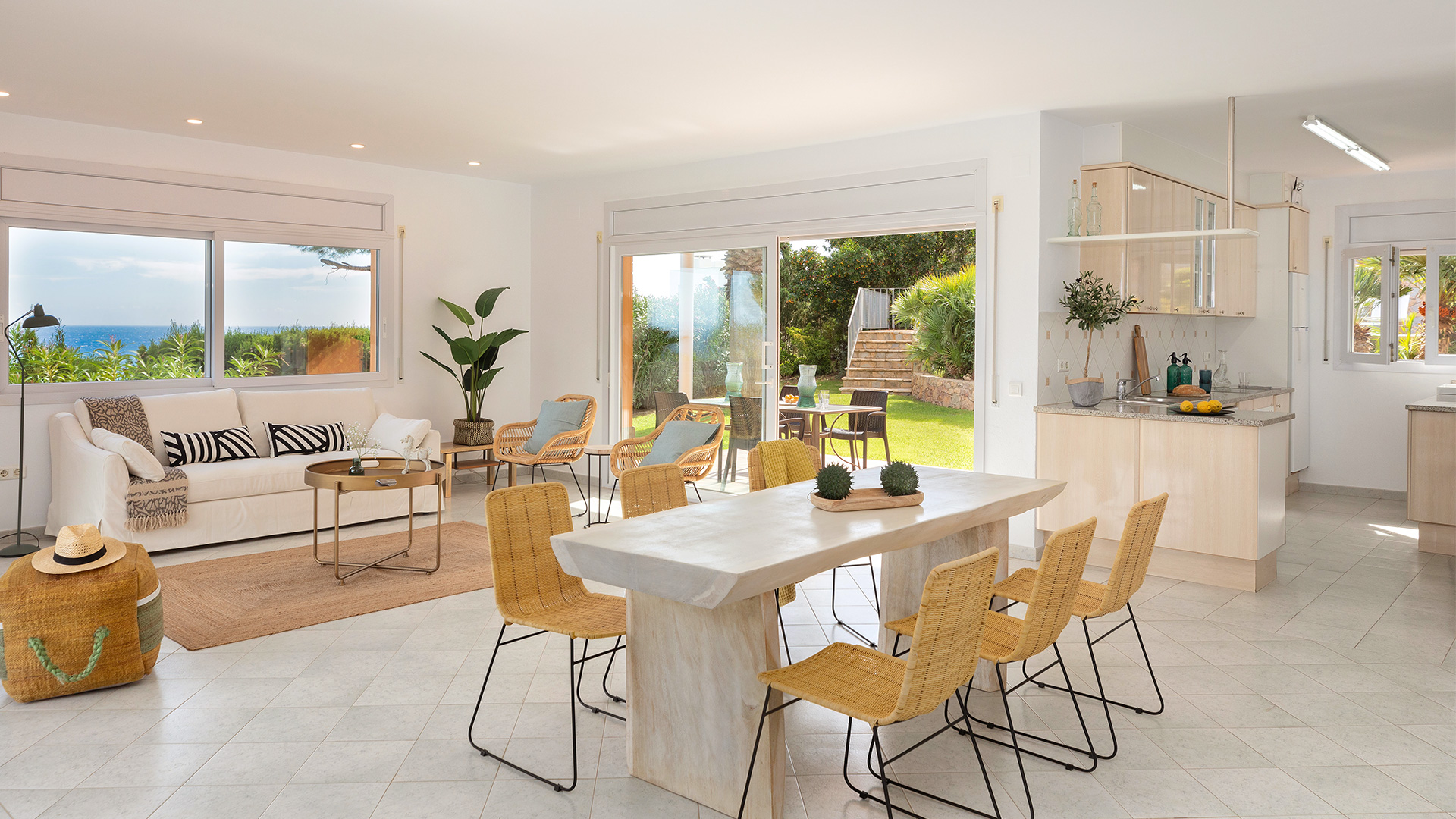 home staging en casa de lujo en la costa brava