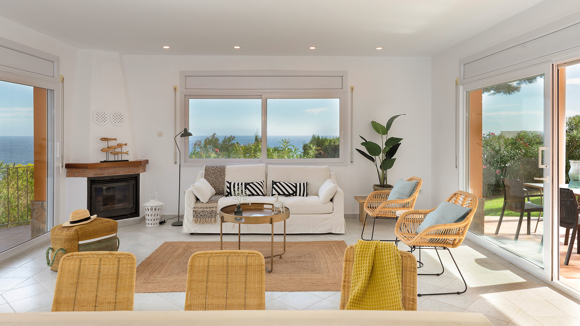 Home staging en una casa en Girona