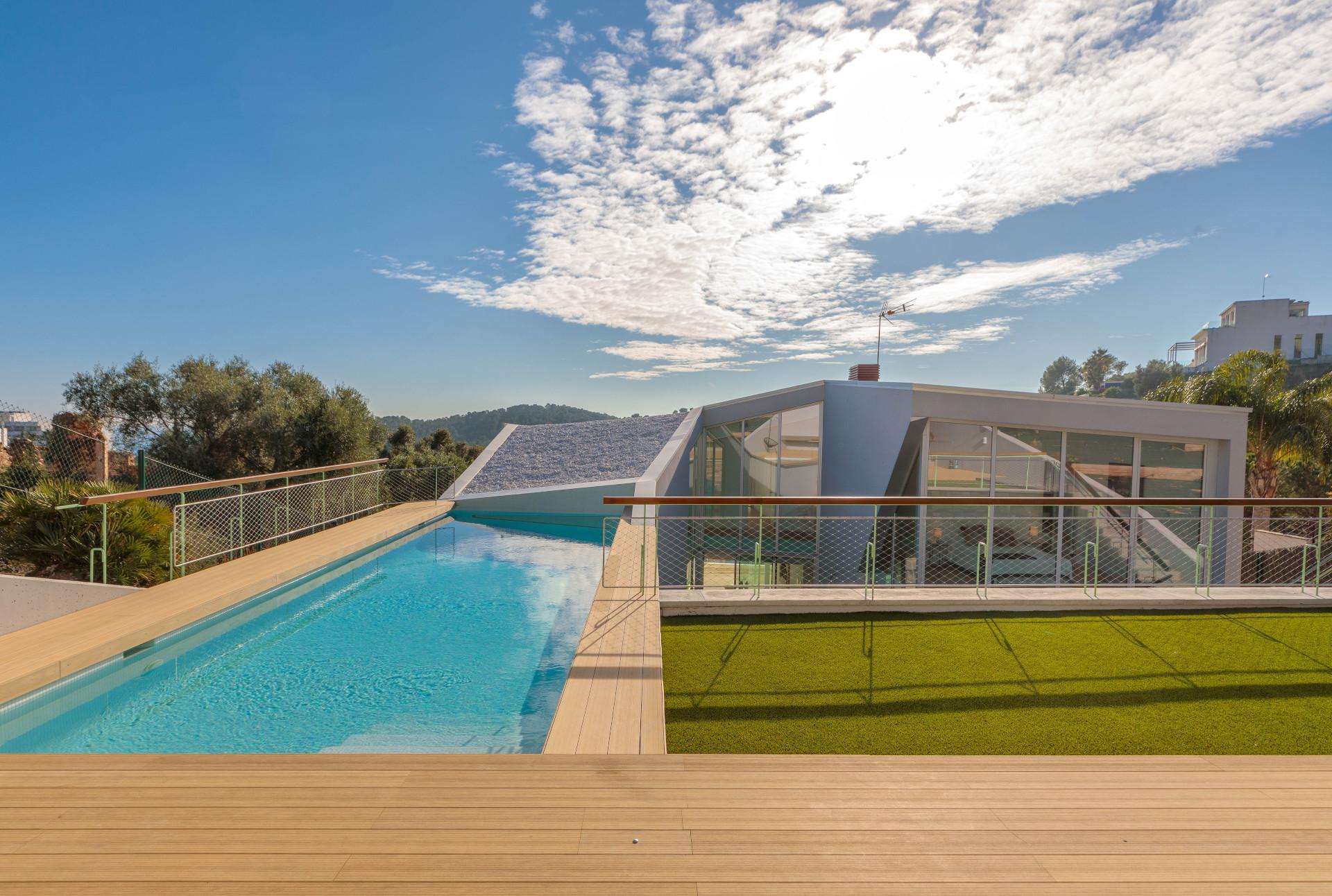 Casa con piscina Sitges