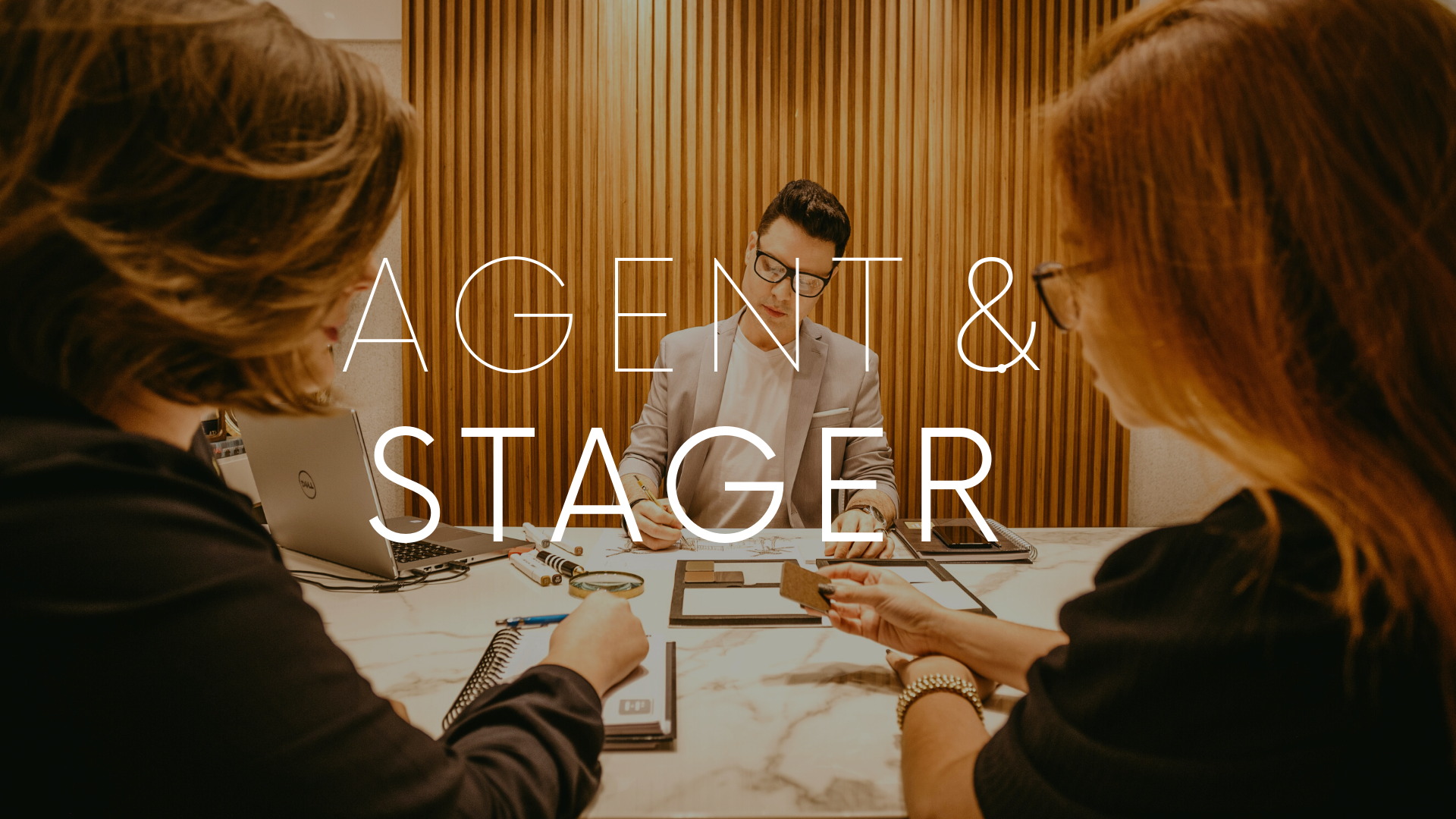 Home Stager y agente inmobiliario