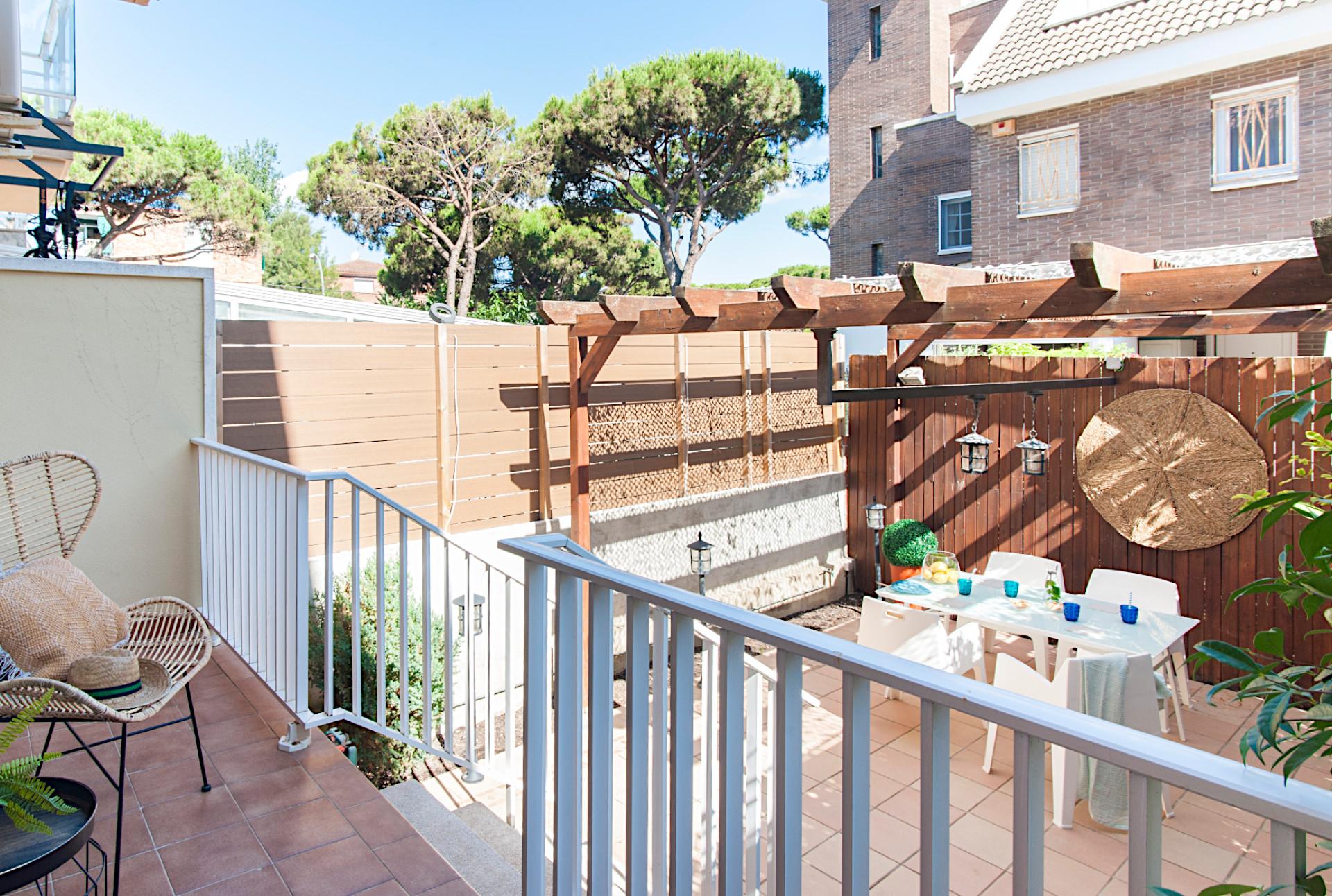Casa en venta con patio