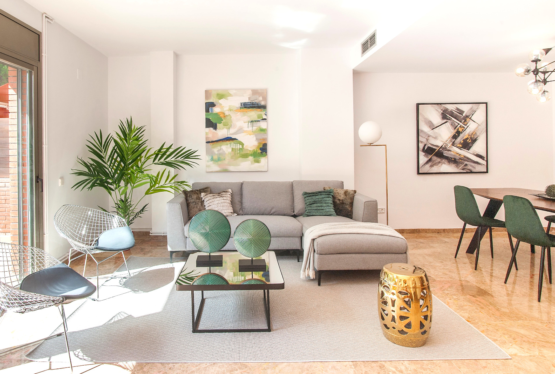 Home Staging con muebles reales